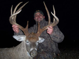 River To River Outfitters, Monster Illinois Whitetail Deer.