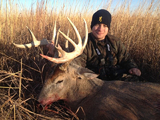 Kansas Trophy Deer Hunts.
