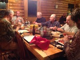 Cedar Ridge Outfitters, Deer Hunt Dinner.
