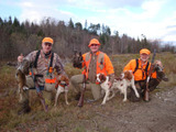 Cedar Ridge Outfitters, Grouse Hunts