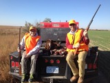 Father/Son Pheasant Hunt