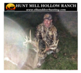 Hunt Mill Hollow Ranch, Whitetail Deer Hunting OK