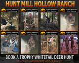 Hunt Mill Hollow Ranch, Trophy Whitetail Deer Hunting Outfitter