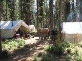 Silver Spur Outfitters & Lodge, Hunting camp