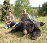Clearwater River Outfitting, Black Bear Hunting Alberta Canada