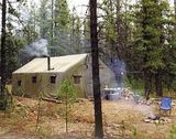 Caribou Lake Outfitters Inc., Tent Camp