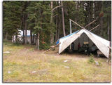 Caribou Lake Outfitters Inc., Hunting Camp