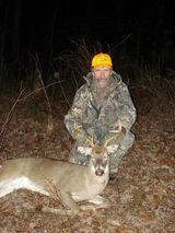 Alabama whitetail deer hunt