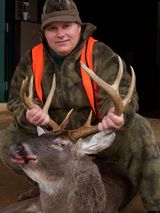 Alabama Water Valley Lodge, Nice buck