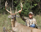 Missouri whitetail deer hunt