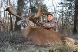 Trophy whitetail deer hunting Missouri Oak Creek Whitetail Ranch.