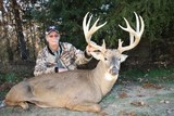 Trophy Deer hunting in Missouri.