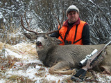 Deer Hunting Montana Tim Bourdeau