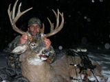 Whitetail deer hunting